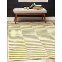 Unique Loom Striped Williamsburg Area Rug - 5' x 8'