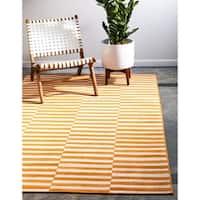 Unique Loom Striped Williamsburg Area Rug - 5' x 8'