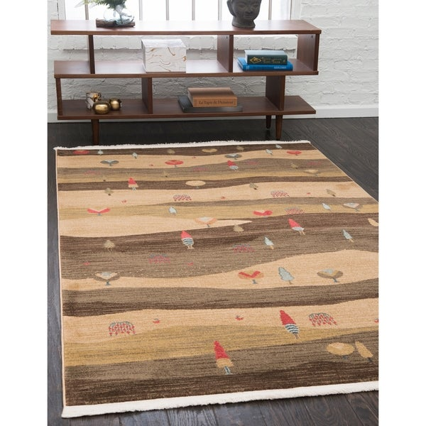 Unique Loom Milan Fars Area Rug - 5' x 8'