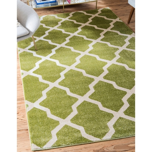 Unique Loom San Antonio Trellis Area Rug