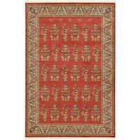 Unique Loom Savoy Fars Area Rug - 6' X 9'