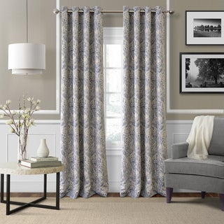 Elrene Julianne Room Darkening Grommet Top Curtain Panel - N/A