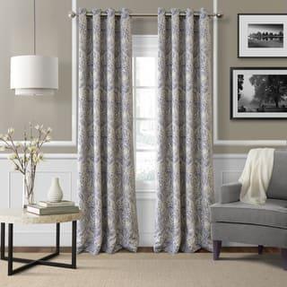 living room curtain panels. Elrene Julianne Room Darkening Grommet Top Curtain Panel Curtains  Drapes For Less Overstock com