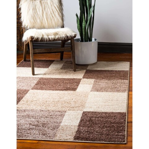 Unique Loom Autumn Providence Rug - 5' x 8'