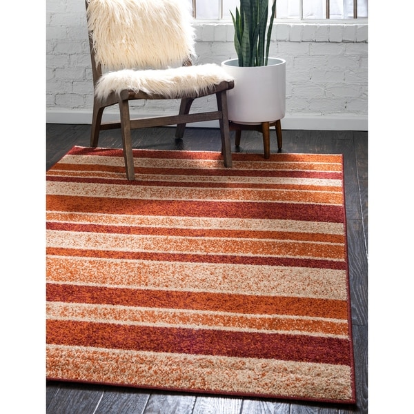 Unique Loom Autumn Artisanal Area Rug