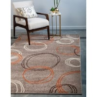 Unique Loom Autumn Cornucopia Area Rug - 5' x 8'