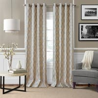 Elrene Zelda Metallic Curtain Panel