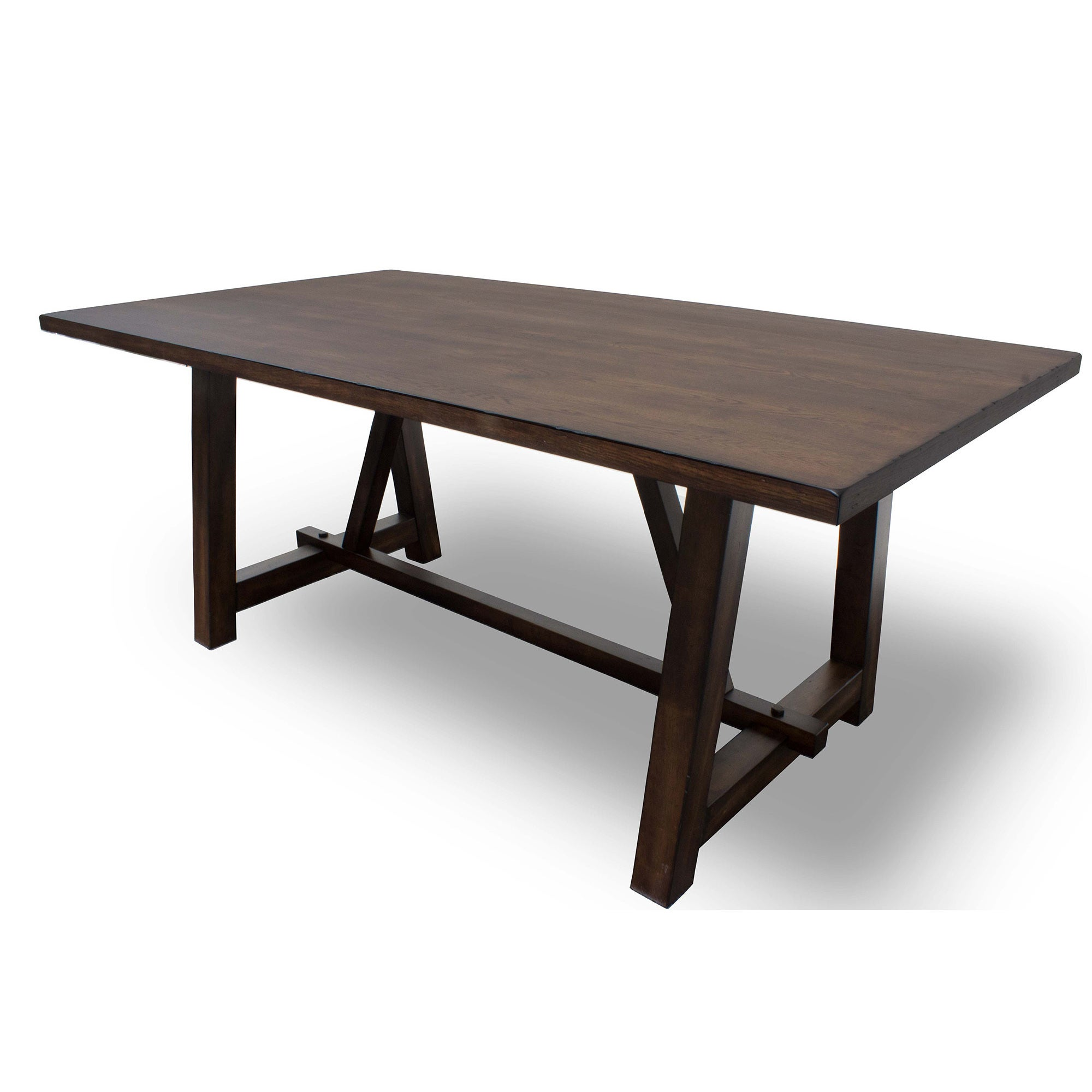 Best Master Furniture Hillary Brown Wood Dining Table - Walnut (Hillary Dining Table)