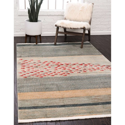 Unique Loom Jordan Fars Area Rug - 5' x 8'
