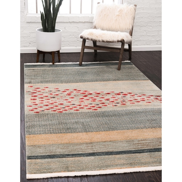 Shop Unique Loom Jordan Fars Area Rug On Sale Free
