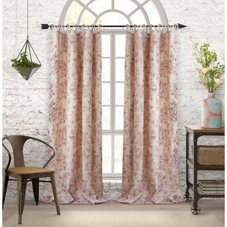 Elrene Annalise Tie Top Curtain Panel