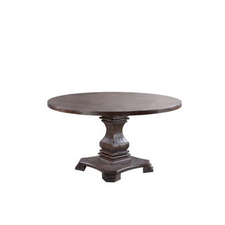 Best Master Furniture M084 Round Dining Table - Brown