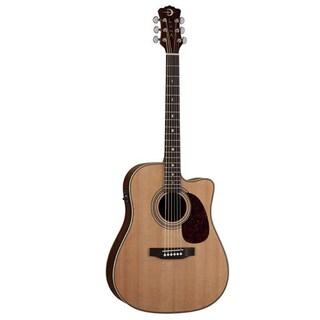 Luna Guitars AMD100 Americana Classic Cutaway Acoustic/Electric Guitar