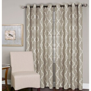 Elrene Medalia Grommet Top Curtain Panel