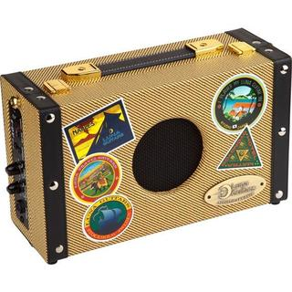 Luna Guitars Battery Powered Ukulele Suitcase Amplifier w/ AC Adapter