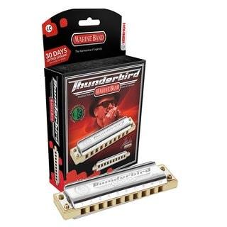 Hohner Marine Band Thunderbird Diatonic Harmonica - Key of Low F
