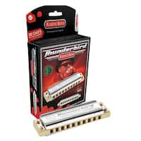 Hohner Marine Band Thunderbird Diatonic Harmonica - Key of LD
