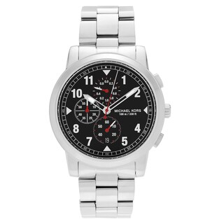Michael Kors Men's MK8549 'Paxton' Stainless Steel Chronograph Dial Link Bracelet Watch