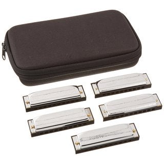 Hohner Marine Band Special 20 5-Piece Pro Pack - Keys of G, A, C, D, & E