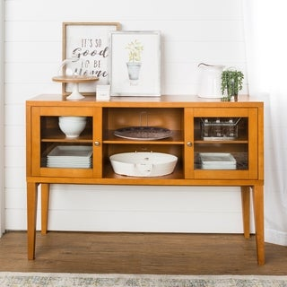 52-inch Wood Buffet with Tapered Legs