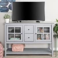 "52"" TV Console Buffet Cabinet - 52 x 16 x 35h"