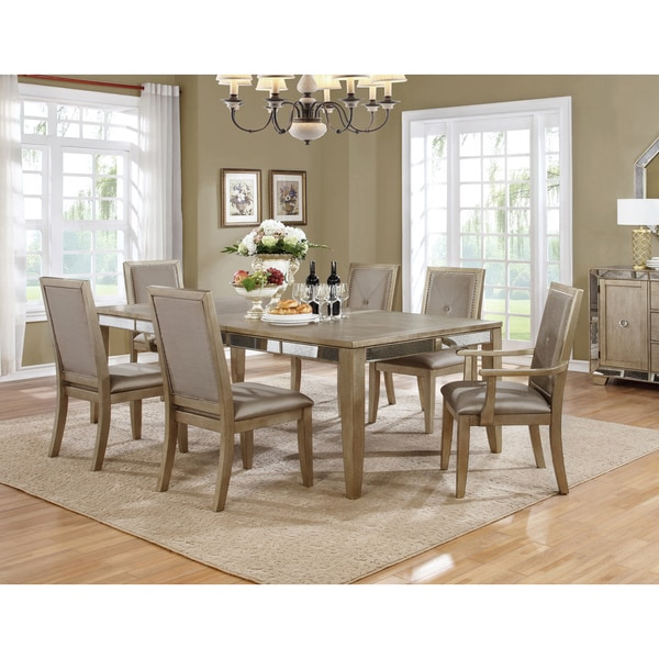 Best Home Furniture Reviews: Shop Best Master Furniture B1980 Dining Table