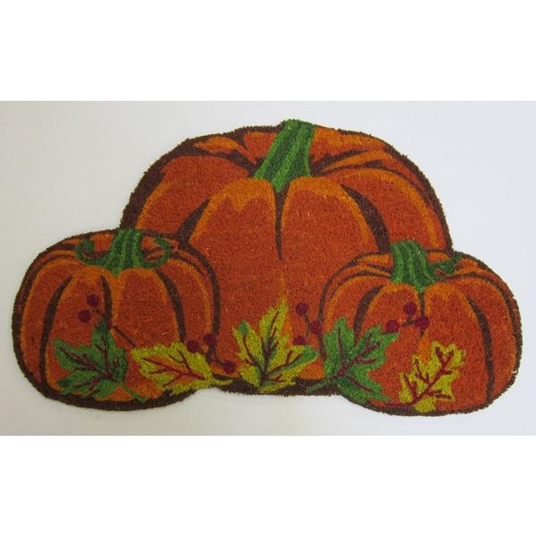 Shop Pumpkin Shaped Coirmat On Sale Free Shipping
