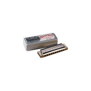 Hohner Marine Band Diatonic Harmonica - Key of G Major