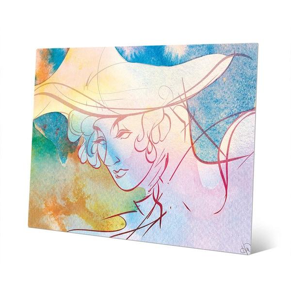 Lemon Neuvo Woman Wall Art Print on Metal - Free Shipping Today ...