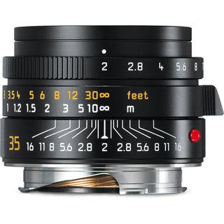 Leica Summicron-M 35mm f/2 ASPH Lens (Black)