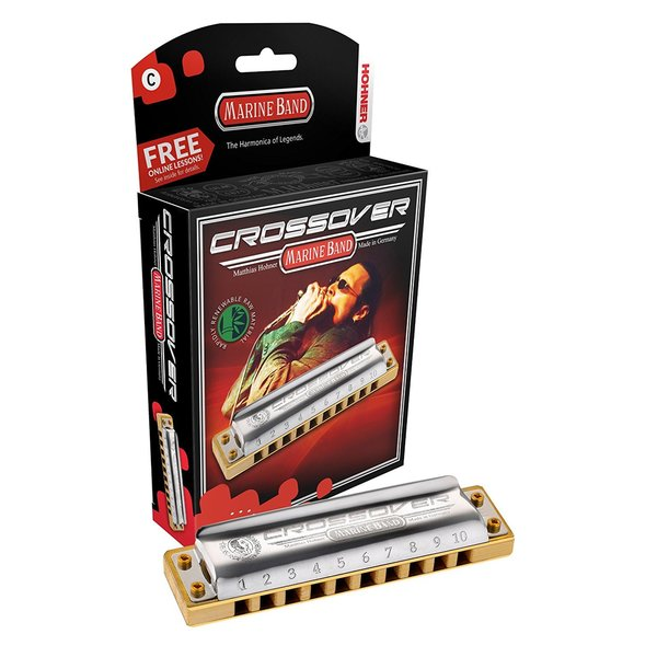 Hohner Marine Band Crossover Boxed Key Of F