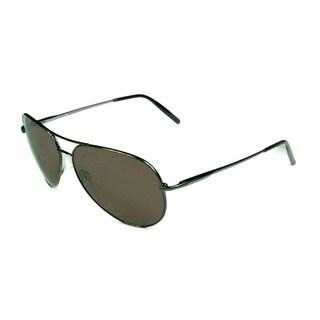 Serengeti Gunmetal Polarized Sedona Lens Unisex Sunglasses