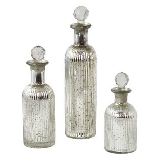 Tessa Decorative Glass Jars (Set of 3)
