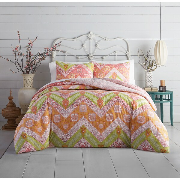 Jessica Simpson Bali Chevron Cotton Comforter Set
