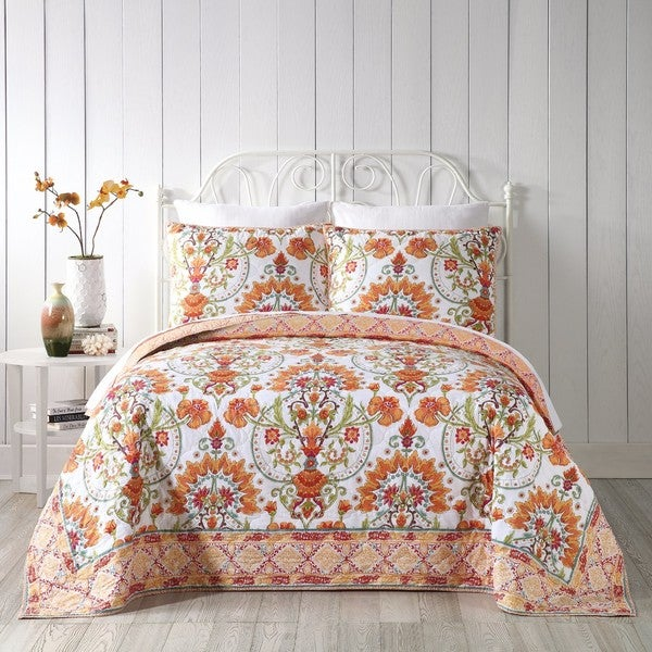 Kaiya Cotton Quilt (Shams Sold Separately)