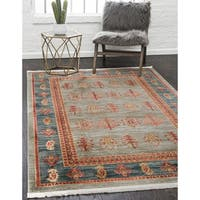 Unique Loom Darya Fars Area Rug - 6' x 9'