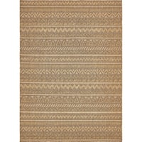 Unique Loom Southwestern Outdoor Area Rug - 7' 0 x 10' 0
