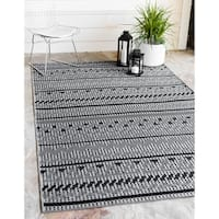 Unique Loom Southwestern Outdoor Area Rug - 7' X 10'