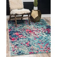 Unique Loom Ivy Jardin Area Rug - 7' X 10'