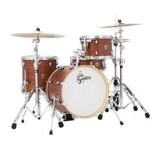 Gretsch 2014 Catalina Club Jazz 4-Piece Shell Pack - Satin Walnut Glaze