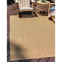 Unique Loom Links Outdoor Area Rug - 7' x 10'