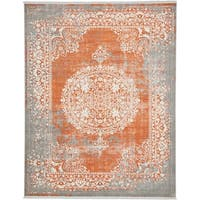 Unique Loom Olwen New Classical Area Rug - 8' x 10'