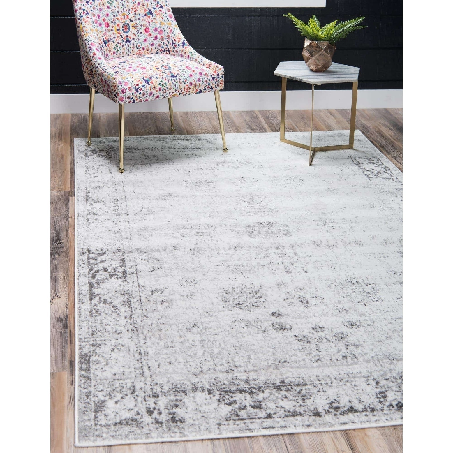 Unique Loom Casino Sofia Area Rug (7 x 10 - Blue)