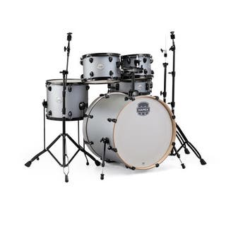 "Mapex ST5295FBIG Storm 22"" Bass Drum 5-Piece Rock Drum Set w/Black Hardware - Iron Grey (Option: Grey)|https://ak1.ostkcdn.com/images/products/16306959/P22671461.jpg?impolicy=medium"