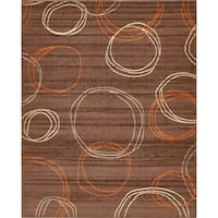 Unique Loom Autumn Cornucopia Area Rug - 8' x 10'