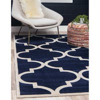 Unique Loom Austin Trellis Area Rug - 7' X 10'