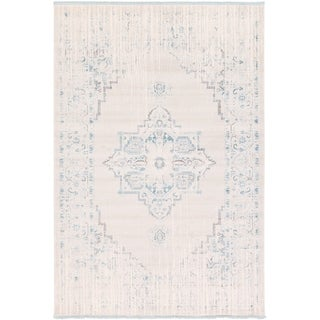 Unique Loom Attiki New Classical Area Rug (Ivory - 7 x 10)