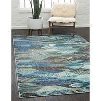 Unique Loom Rainier Sedona Area Rug - 7' X 10'