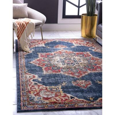 Octagon Traditional Area Rugs