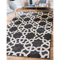 Unique Loom Charlotte Trellis Area Rug - 7' X 10'